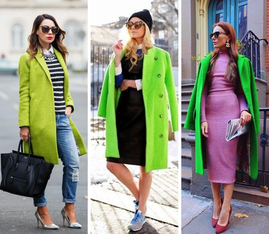 greenery street style 2017
