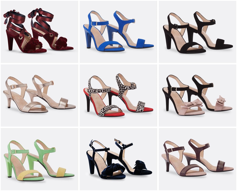 pantofi cu tocuri care se schimba
