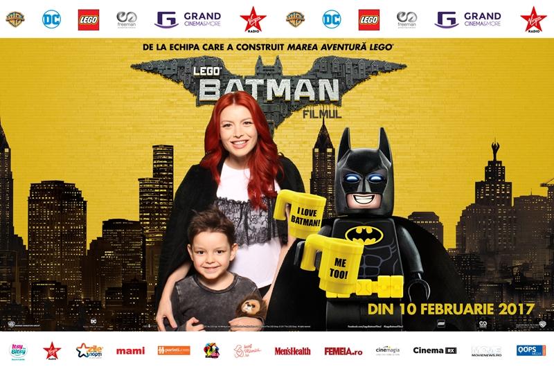 Elena Gheorghe Lego Batman