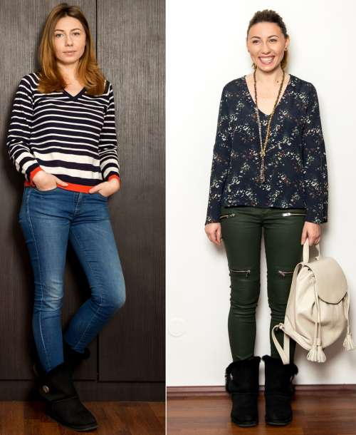 Before and After: Schimbare de stil pentru IRINA