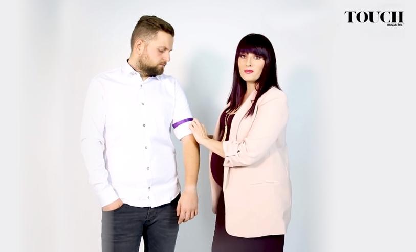 cum ridici mânecile de la cămaşă