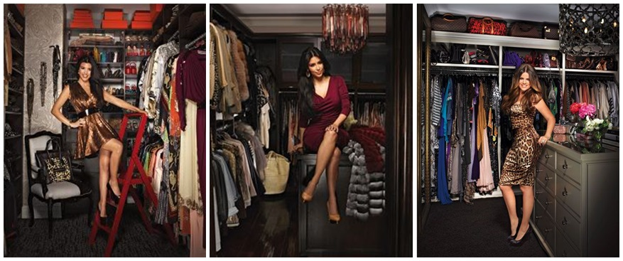 kardashian celebrity closets