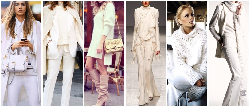 all white look
