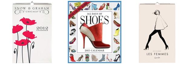 calendar de perete fashion