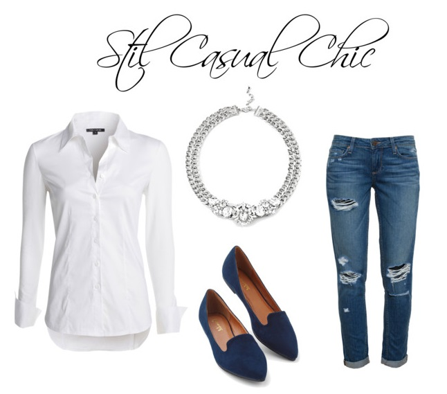 stil casual chic