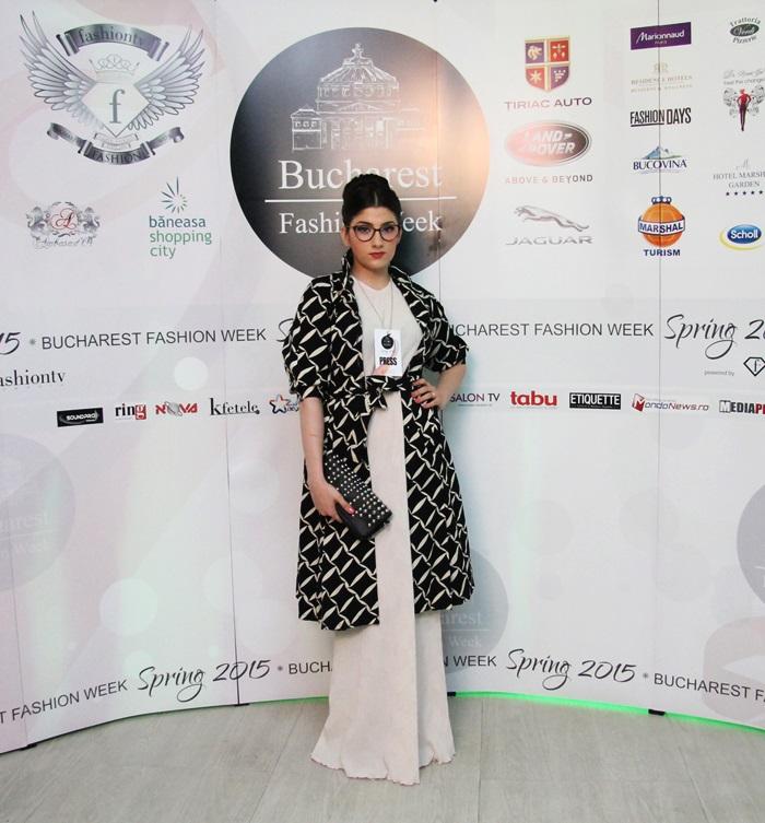 Mariana Romanica Fashion Week Spring 2015