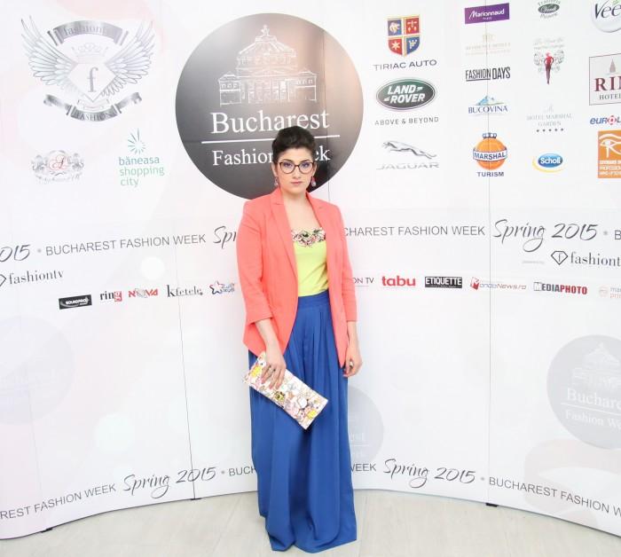Mariana Romanica Bucharest Fashion Week Spring 2015