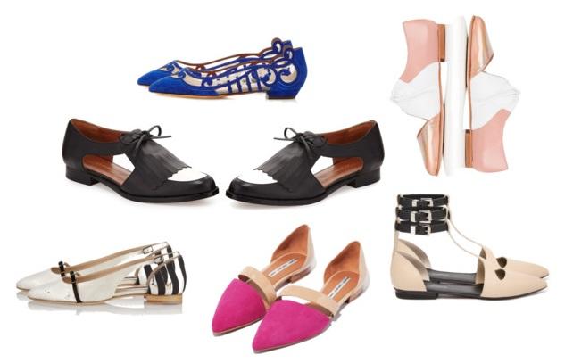 cutout shoes