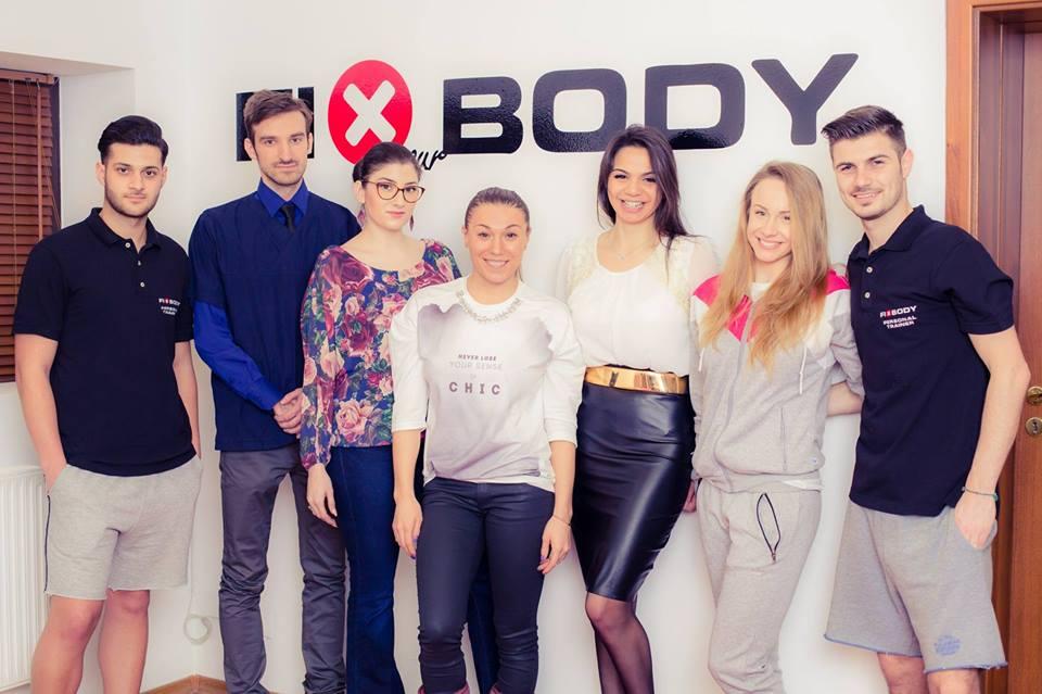 fiXyourBody Team - Mariana Romanica - Monica Rosu - Sandra Izbasa