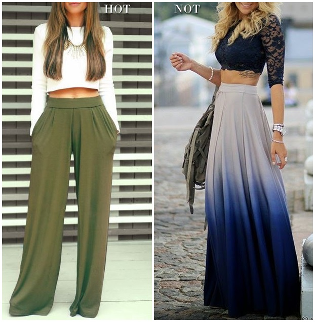 hot or not cropped top maxi