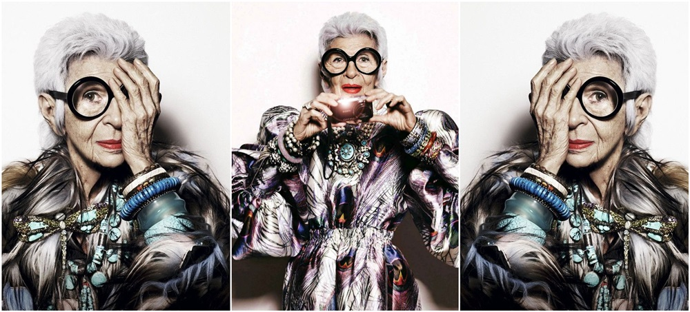 Stil de vedeta: Iris Apfel, excentrica suprema a modei