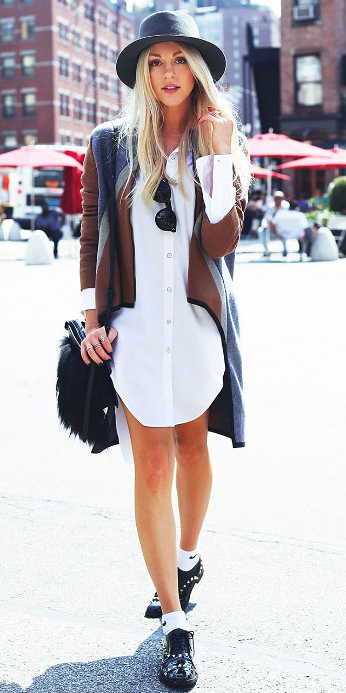 camasa rochie cardigan