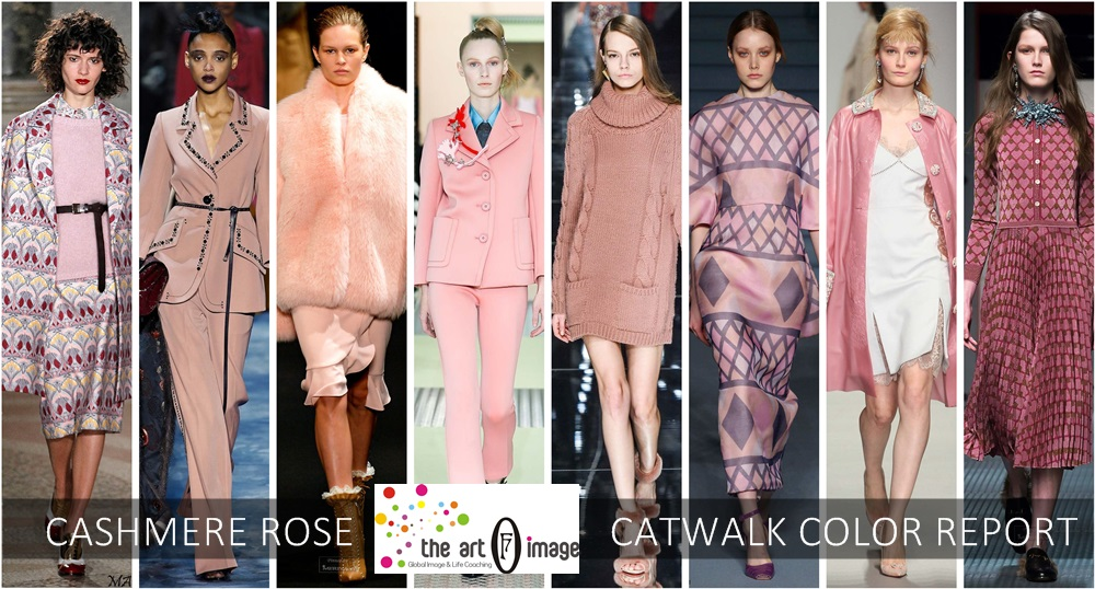 cashmere rose catwalk color report aw 2015