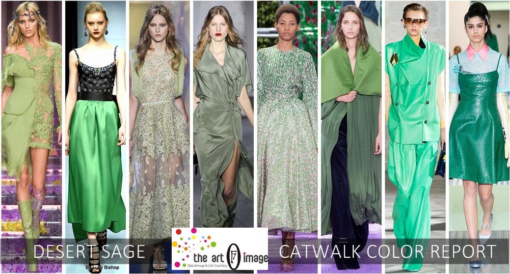 desert sage catwalk color report aw 2015