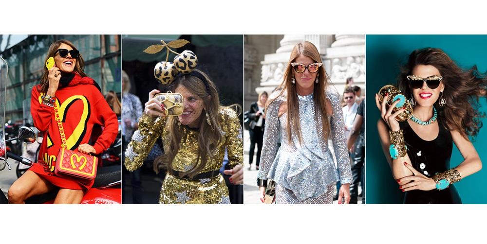 Stil de vedeta: Anna Dello Russo, street style cu moda de lux