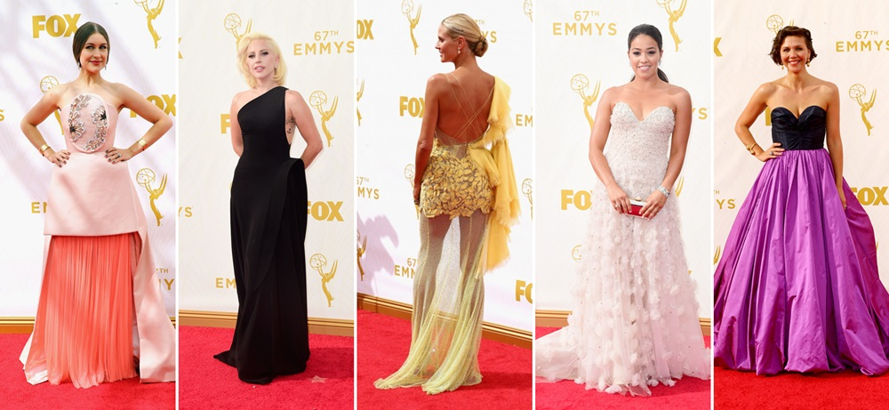 Heidi Klum – cea mai prost imbracata vedeta de la Premiile Emmy 2015