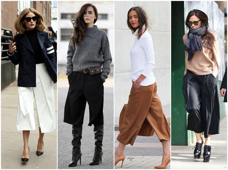 cum se poarta pantalonii culottes