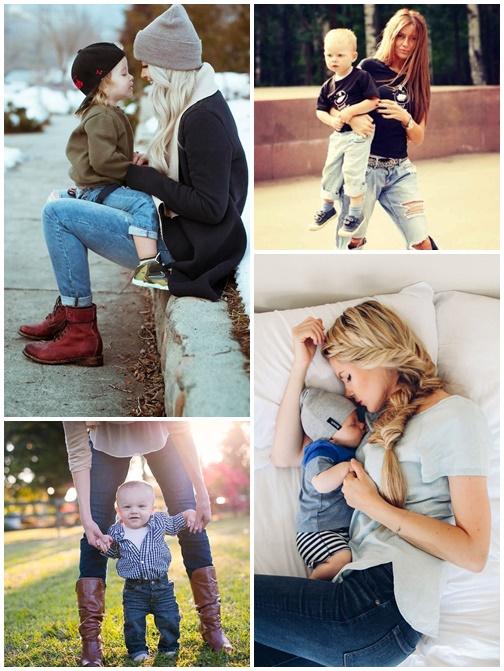 stil pentru mamici