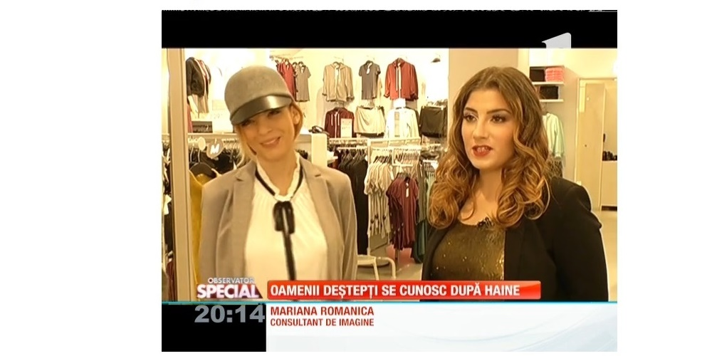 Reportaj Antena 1 cu Mariana Romanica: Vestimentatia oamenilor inteligenti