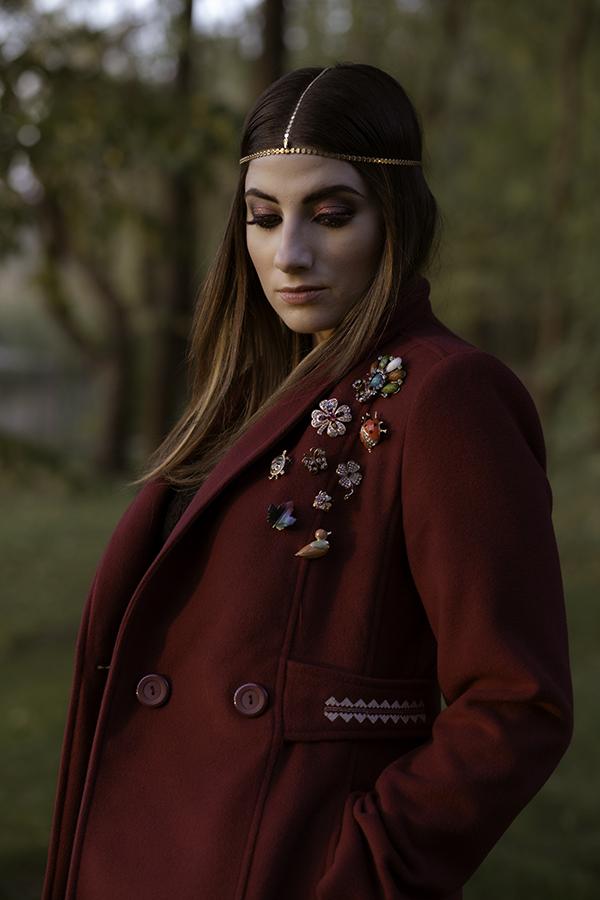 mariana romanica makeup