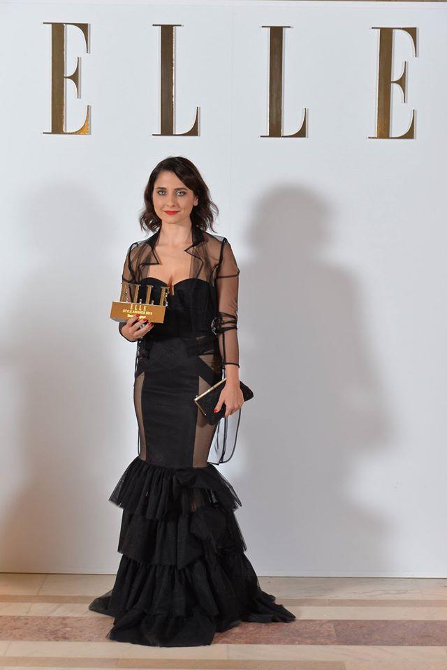 Andreea Castrase elle style award