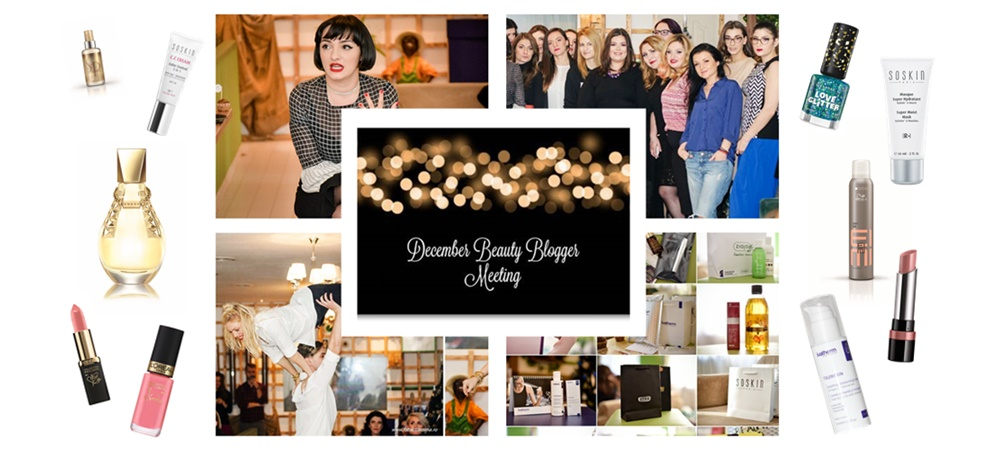 Frumusetea, de la online la offline – December Beauty Bloggers Meeting 4