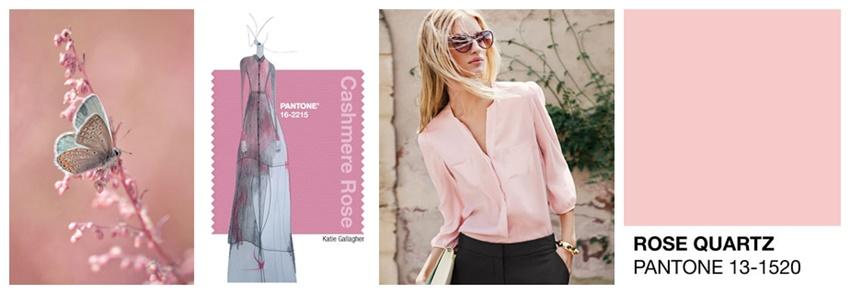 rose quartz fashion color report