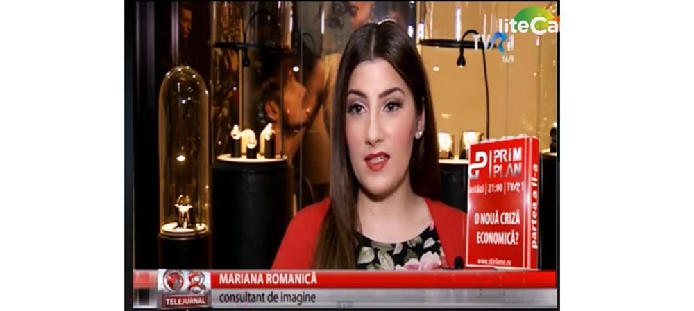 Reportaj la TVR 1 cu Mariana Romanica – alegerea cadoului perfect