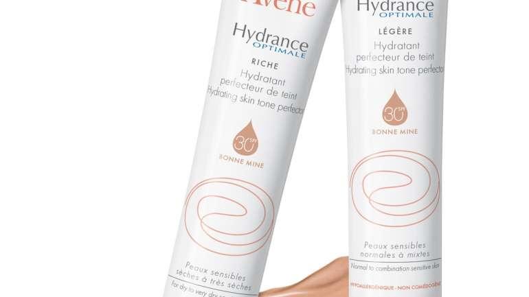 Avene Hydrance Optymale – summer no make-up look