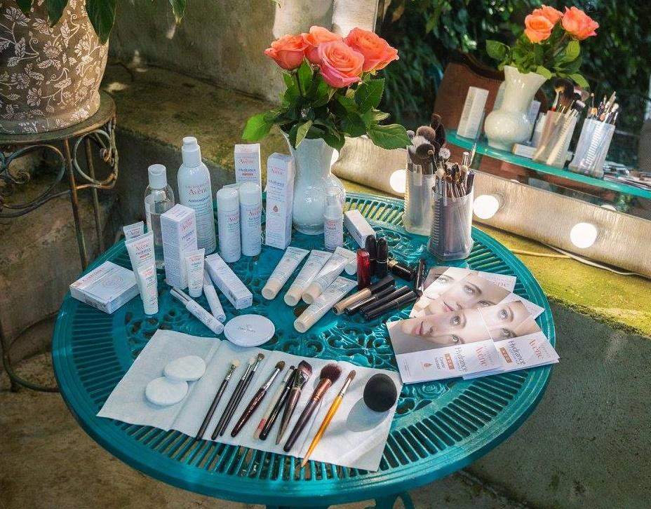 avene make-up collection