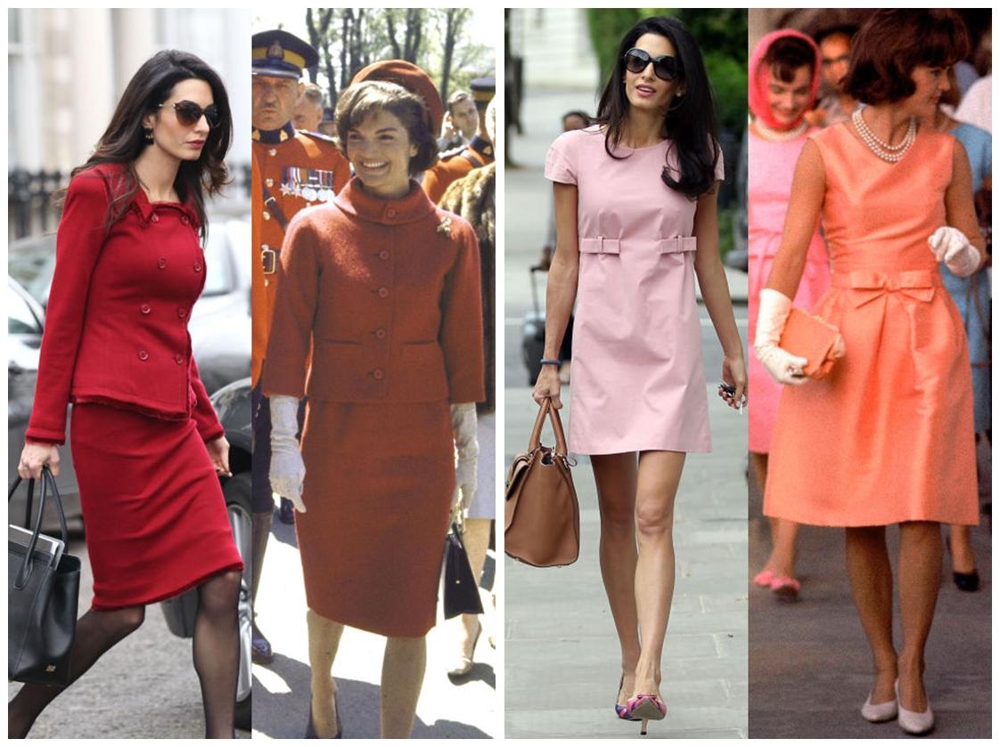amal clooney jackie kennedy fashion