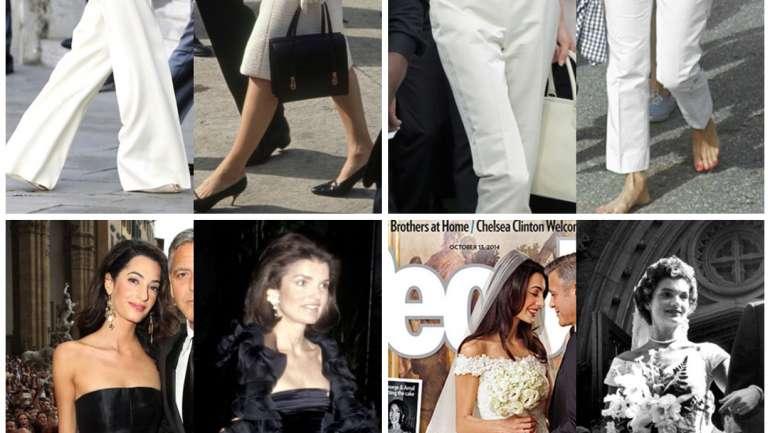 Inspiraţie de stil: Amal Clooney şi Jackie Kennedy