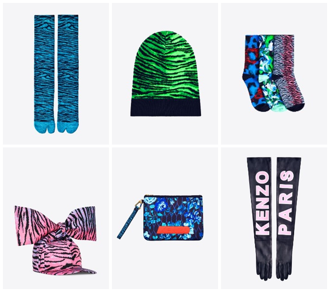 accesorii kenzo for h&m