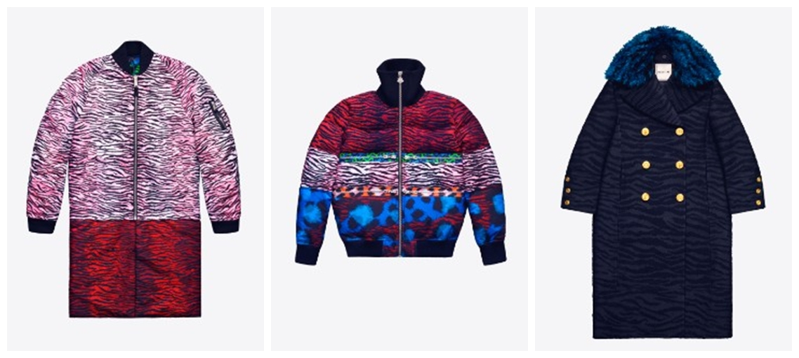 kenzo for h&m coat