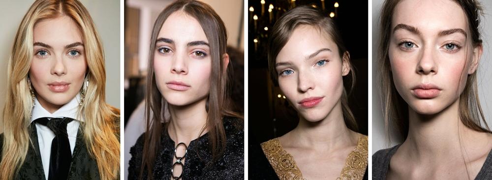 makeup trend toamna 2016 no makeup look