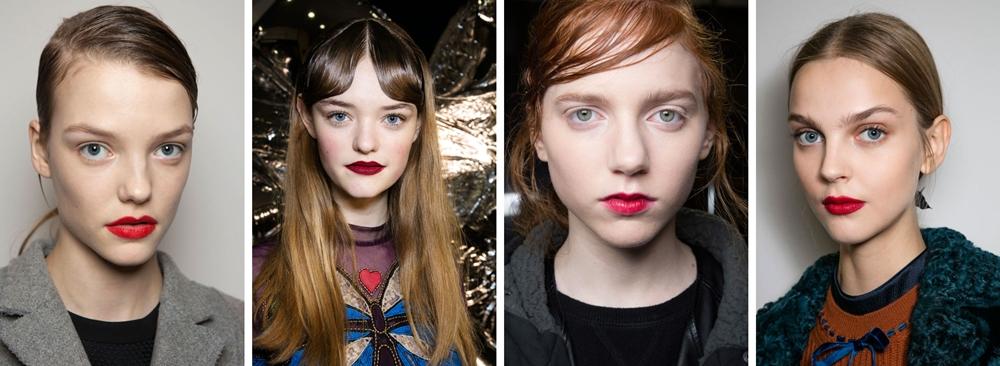 makeup trend toamna 2016 ruj rosu
