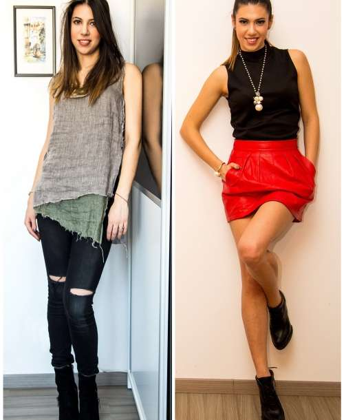 BEFORE and AFTER: Schimbare de Stil pentru Cristina