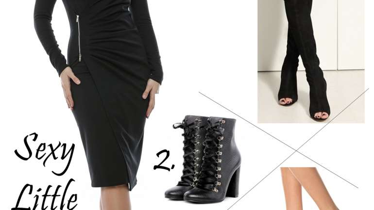 Sexy Little Black Dress – o rochie, trei ţinute