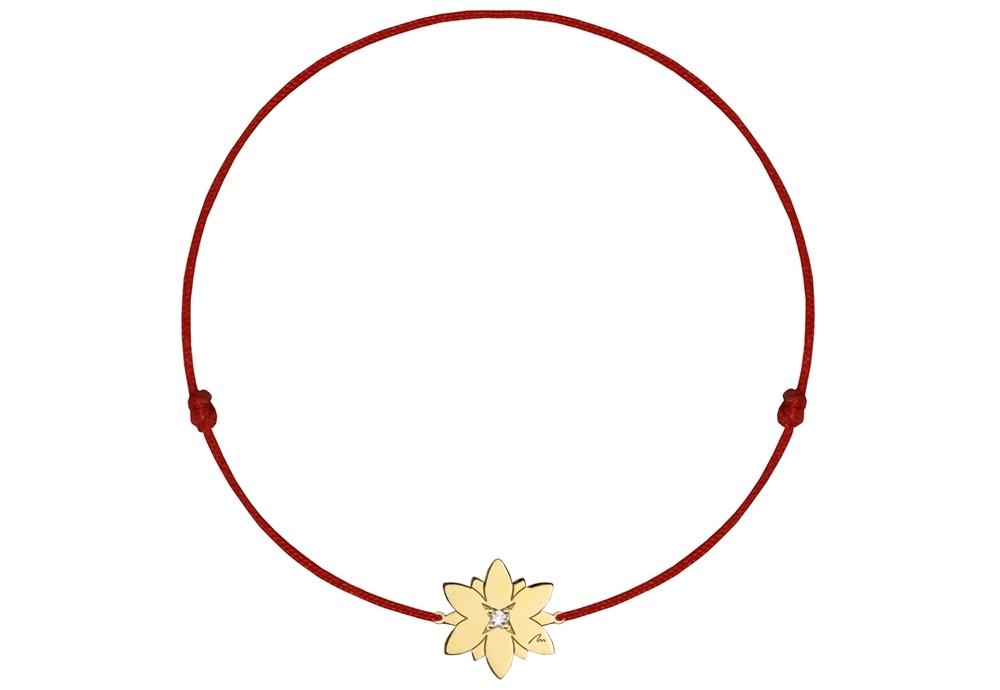 14-karat-gold-diamond-lotus-on-string-bracelet-gallery-1-1000x1000