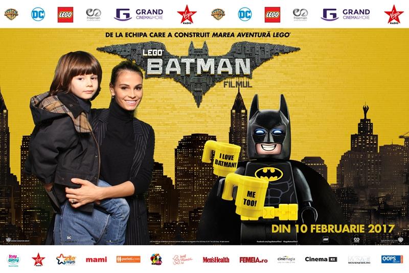 Anca Serea Lego Batman