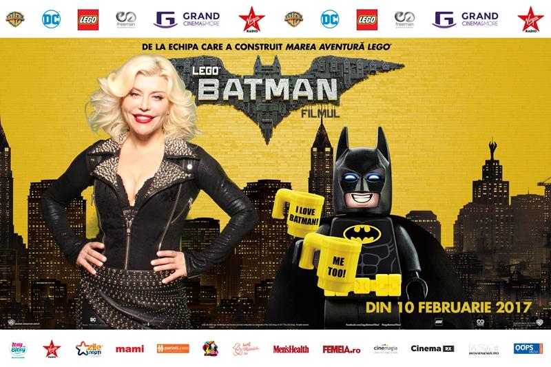 Loredana Groza Lego Batman (2)