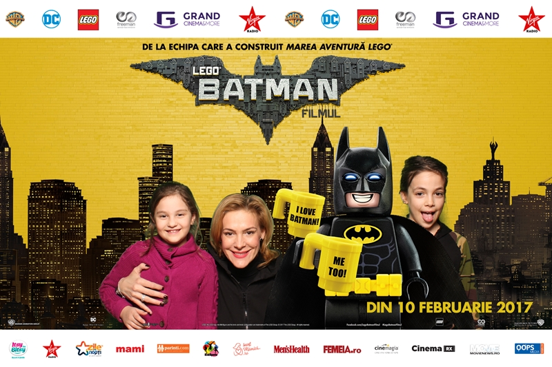 Roxana Ciuhulescu Lego Batman