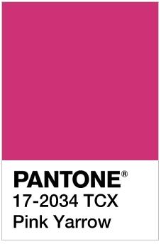 PINK YARROE SS17 PANTONE
