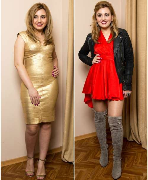 Before and After: Schimbare de stil pentru Simona