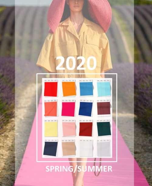 Primăvară/Vară 2020 COLOR TREND REPORT